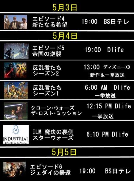 スターウォーズの日 イベント